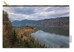 Fall Color At Ruthton Point In Hood River Oregon Carry-all Pouch