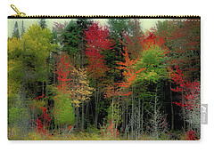 Carry-all Pouch featuring the photograph Fall Color Panorama by David Patterson
