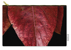 Carry-all Pouch featuring the photograph Fall Colors 3 by James Sage