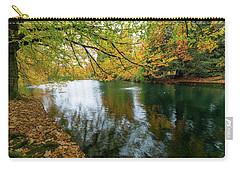 Fall Colors At Laurelhurst Park Portland Oregon Carry-all Pouch by Jit Lim