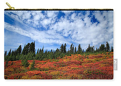Fall Colors At Mount Rainier Carry-all Pouch by Lynn Hopwood