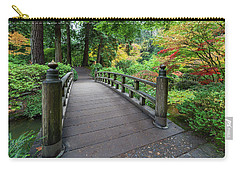 Fall Colors By The Foot Bridge Carry-all Pouch