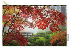 Fall Colors By The Moon Bridge Carry-all Pouch