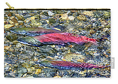 Carry-all Pouch featuring the photograph Fall Colors by David Lawson
