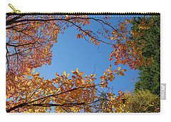 Fall Colors In Hoyt Arboretum Carry-all Pouch