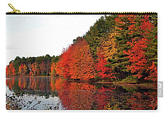 Fall Colors In Madbury Nh Carry-all Pouch by Nancy Landry