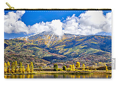 Fall Colors In Steamboat With A Lake. Carry-all Pouch