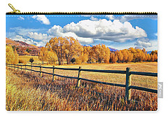 Fall Colors Sunset Colorado Carry-all Pouch