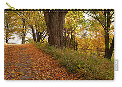 Fall Driveway Carry-all Pouch by Lois Lepisto
