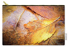 Fall Elm Leaves Carry-all Pouch