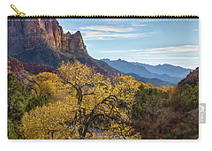 Fall Evening At Zion Carry-all Pouch