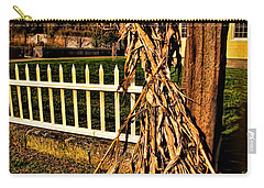 Fall Fence At Hale Farm Carry-all Pouch by Joan  Minchak