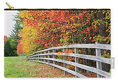 Fall Fence Carry-all Pouch