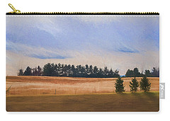 Fall Fields Of The Shenandoah Carry-all Pouch by Kevin Blackburn