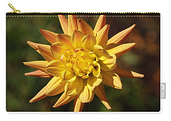 Carry-all Pouch featuring the photograph Fall Flower by Richard Bryce and Family