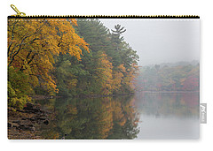 Fall Foliage In The Fog Carry-all Pouch by Brian MacLean