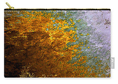 Carry-all Pouch featuring the digital art Fall Foliage by John Krakora