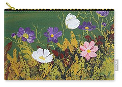 Fall Foliage Carry-all Pouch by Virginia Coyle