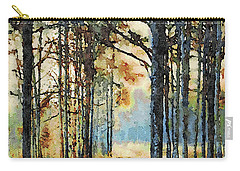 Fall Forest Watercolor Carry-all Pouch