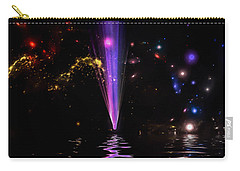 Carry-all Pouch featuring the photograph Fall From Grace by Naomi Burgess