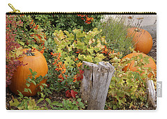 Fall Garden Carry-all Pouch by Cynthia Powell