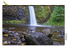 Fall Gorge Carry-all Pouch by Jonathan Davison