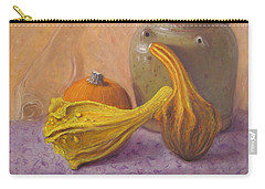 Carry-all Pouch featuring the painting Fall Harvest #4 by Donelli  DiMaria