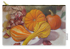 Fall Harvest #5 Carry-all Pouch by Donelli  DiMaria