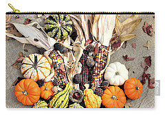 Carry-all Pouch featuring the photograph Fall Harvest by Sheila Brown