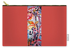 Carry-all Pouch featuring the painting Fall II by Kovacs Anna Brigitta