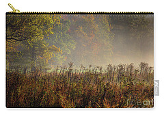 Carry-all Pouch featuring the photograph Fall In Cades Cove by Douglas Stucky