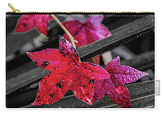 Carry-all Pouch featuring the photograph Fall In Louisiana by Andy Crawford