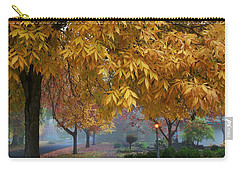 Fall In My Hometown Carry-all Pouch by Lynn Hopwood