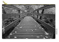 Fall In Oregon Bw Carry-all Pouch by Jonathan Davison