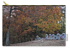Fall In The Cemetery Carry-all Pouch
