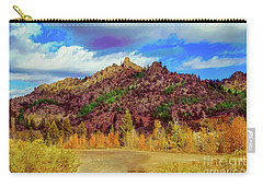 Carry-all Pouch featuring the photograph Fall In The Oregon Owyhee Canyonlands  by Robert Bales