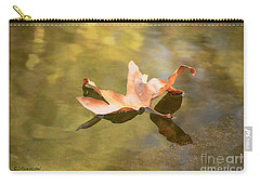 Fall Leaf Floating Carry-all Pouch