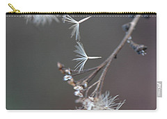 Carry-all Pouch featuring the photograph Fall - Macro by Jeff Burgess
