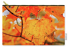 Fall Maple Leaf Carry-all Pouch