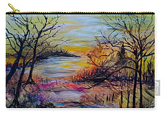 Fall Meander Carry-all Pouch