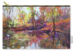 Fall Millpond Carry-all Pouch