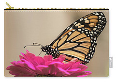 Fall Monarch 2016-4 Carry-all Pouch by Thomas Young