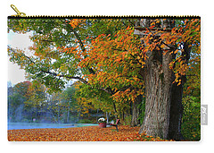 Fall Morning In Jackson Carry-all Pouch