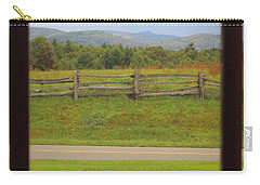 Fall Mountains Through The Window  Carry-all Pouch