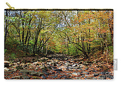 Fall On Clifty Creek Carry-all Pouch by Paul Mashburn