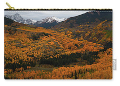 Fall On Full Display At Capitol Creek In Colorado Carry-all Pouch by Jetson Nguyen