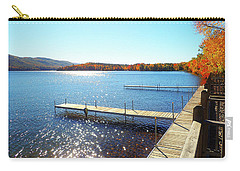 Fall On Lake Dunmore Carry-all Pouch