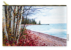 Fall On Lake Superior Carry-all Pouch