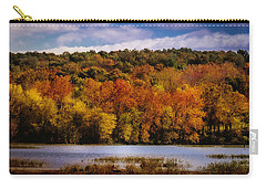 Fall On Springfield Lake Carry-all Pouch