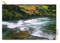 Fall On The Clackamas River, Or Carry-all Pouch